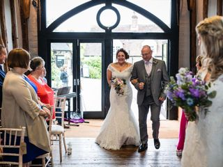 The wedding of Samantha Lewis-Williams and Ellen Lewis-Williams 1
