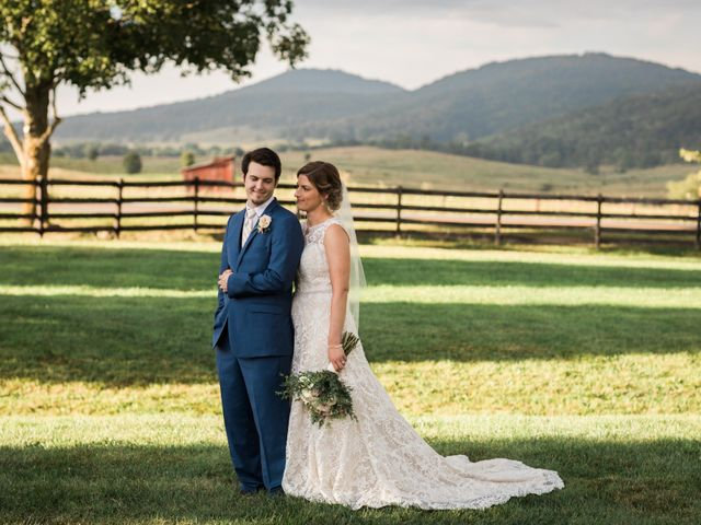 The wedding of Annie and Josh