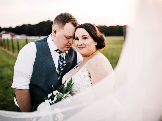 The wedding of Holly and James