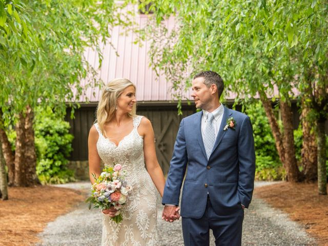 The wedding of Emily and Nick
