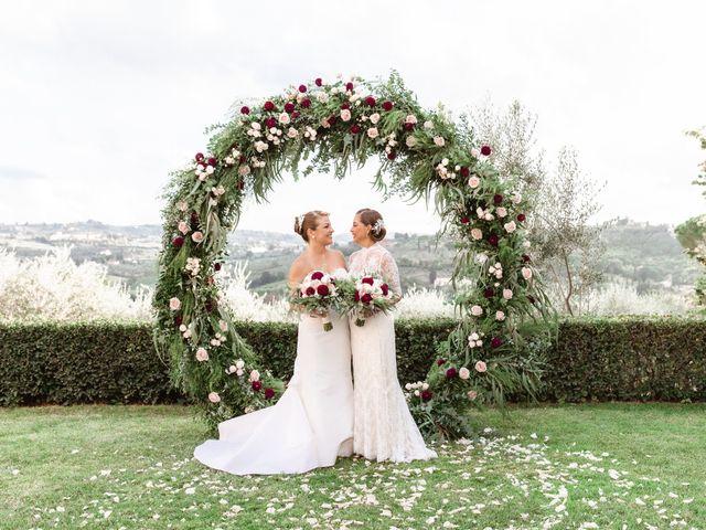 The wedding of Christine and Ligenne