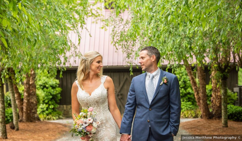 Nick and Emily's Wedding in Andrews, North Carolina