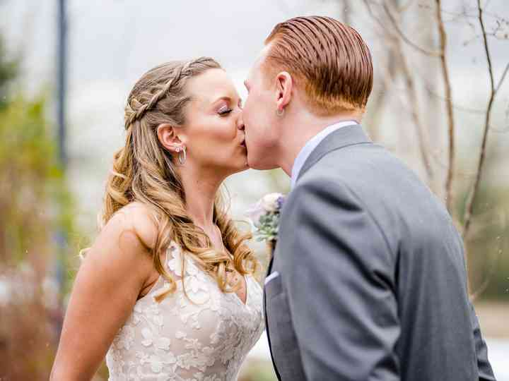 The wedding of Kyle and Paris