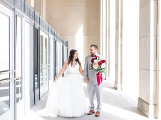 The wedding of Kimberly and Ben