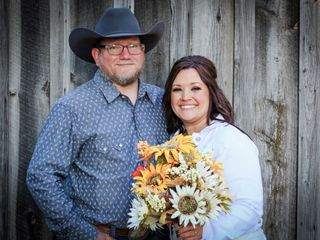 The wedding of William Simianer and Tonya