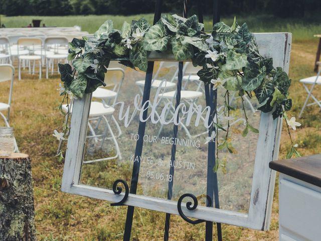 Austin and Kaylee's Wedding in Elberton, Georgia 3