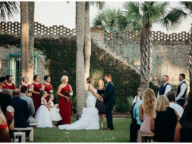 Chris and Whitney's Wedding in Murrells Inlet, South Carolina 10