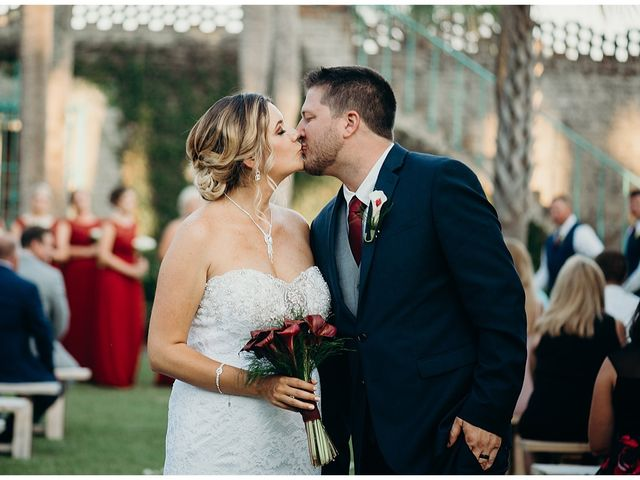 The wedding of Whitney and Chris