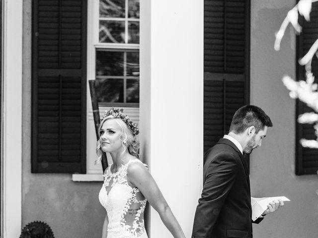 Nicole and Ben's Wedding in Caledonia, New York 7