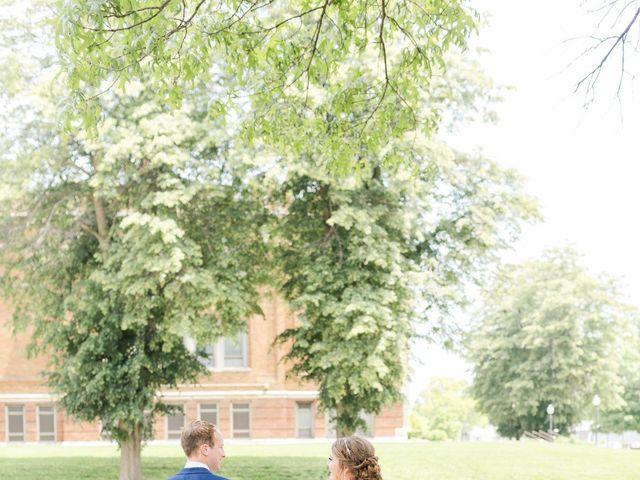 Julie and Adam's Wedding in Oskaloosa, Iowa 7