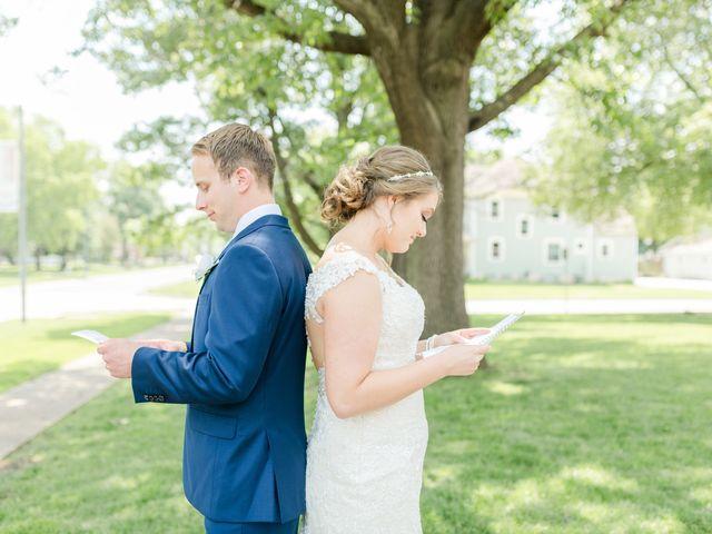 Julie and Adam's Wedding in Oskaloosa, Iowa 8