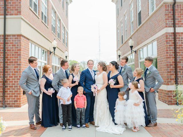 Julie and Adam's Wedding in Oskaloosa, Iowa 13