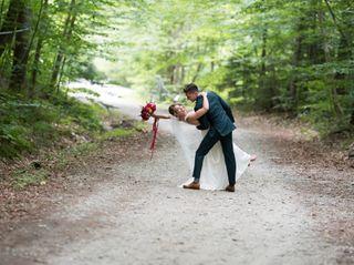 The wedding of Tori and Josh