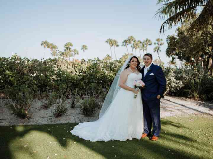 The wedding of Jessica and Chris