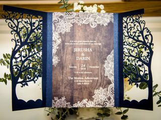The wedding of Jerusha and Darin 1
