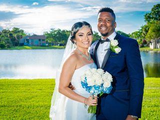 The wedding of Stephanie and Edwin