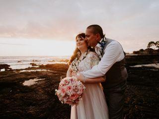 The wedding of Kristine and Jason
