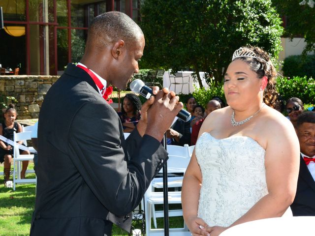 The wedding of Christina and Corey