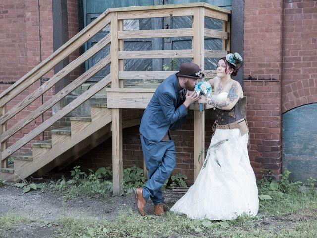 The wedding of Erica Archambeau and Chris Bailey