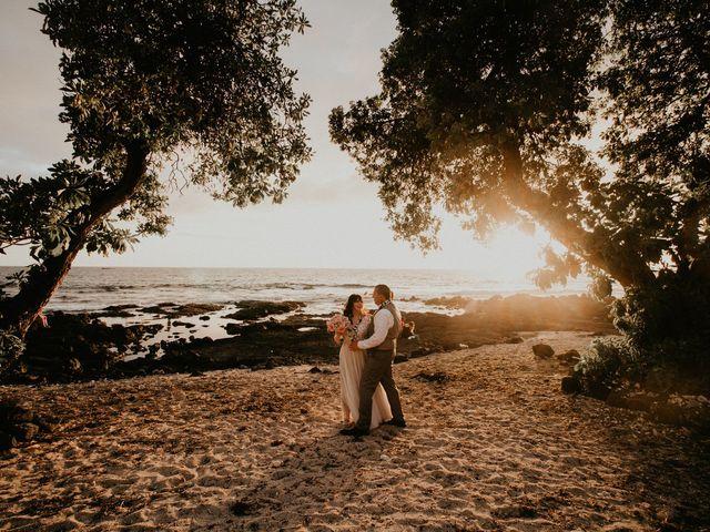 Jason and Kristine's Wedding in Kailua Kona, Hawaii 45