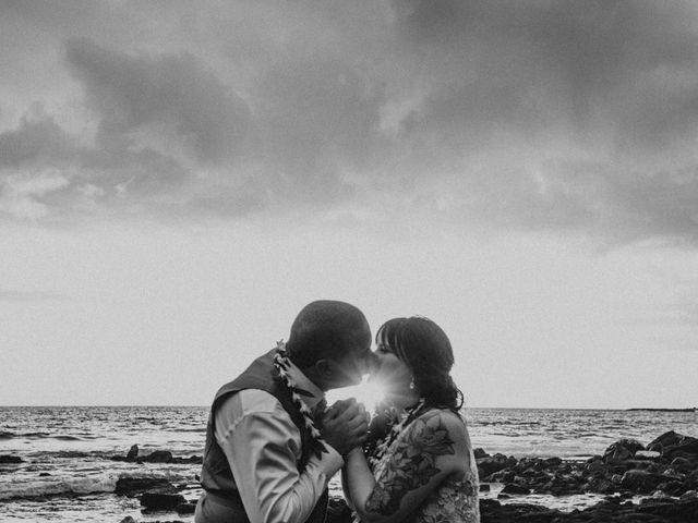 Jason and Kristine's Wedding in Kailua Kona, Hawaii 46