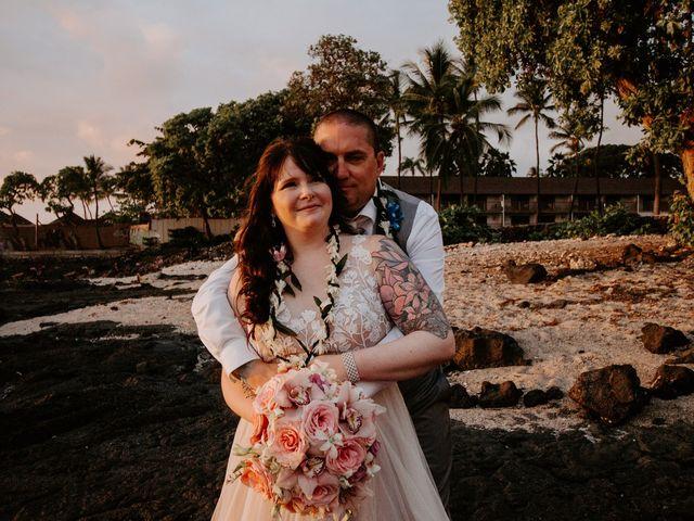 Jason and Kristine's Wedding in Kailua Kona, Hawaii 1