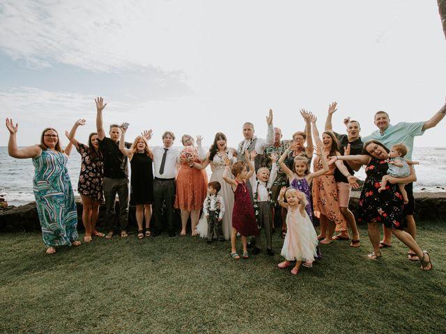 Jason and Kristine's Wedding in Kailua Kona, Hawaii 6