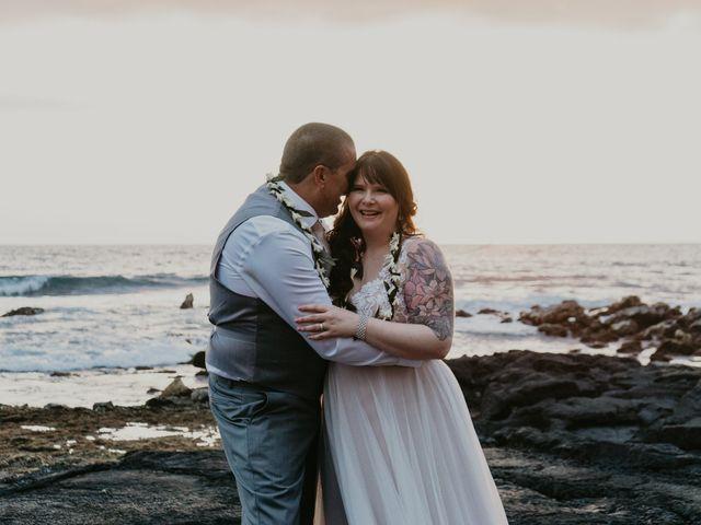Jason and Kristine's Wedding in Kailua Kona, Hawaii 11
