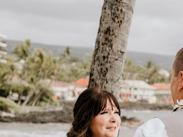 Jason and Kristine's Wedding in Kailua Kona, Hawaii 33