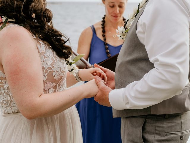 Jason and Kristine's Wedding in Kailua Kona, Hawaii 34