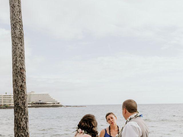 Jason and Kristine's Wedding in Kailua Kona, Hawaii 36