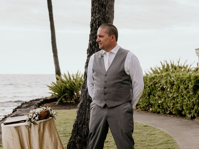 Jason and Kristine's Wedding in Kailua Kona, Hawaii 39