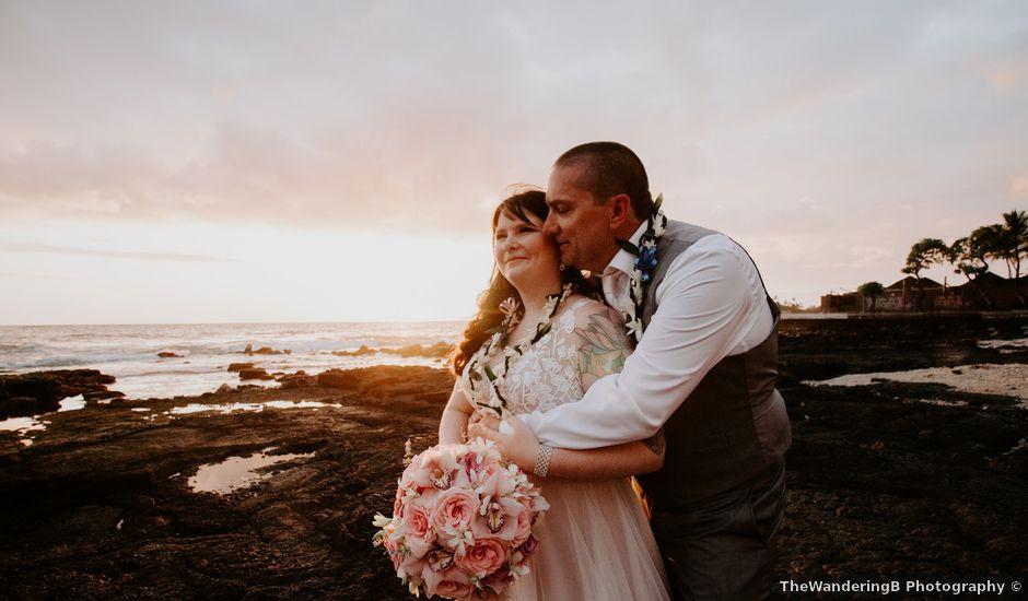 Jason and Kristine's Wedding in Kailua Kona, Hawaii