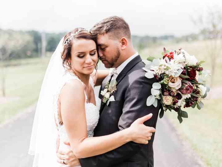 The wedding of Lindsey and Matt