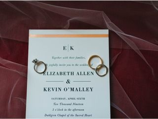 The wedding of Liz and Kevin 1