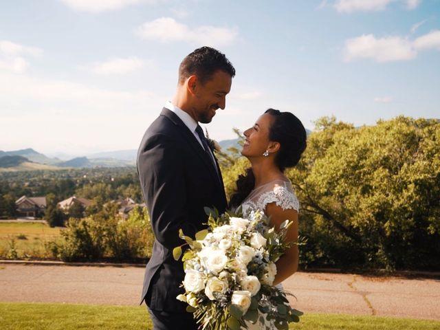 The wedding of Dana and Tevan