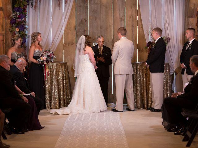 Emily and Aaron's Wedding in Sistersville, West Virginia 6