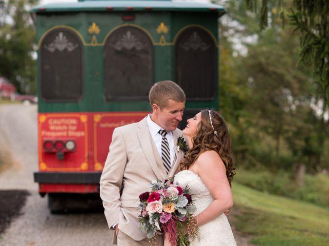 Emily and Aaron's Wedding in Sistersville, West Virginia 12