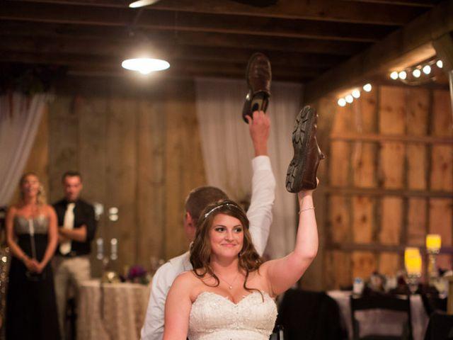 Emily and Aaron's Wedding in Sistersville, West Virginia 16