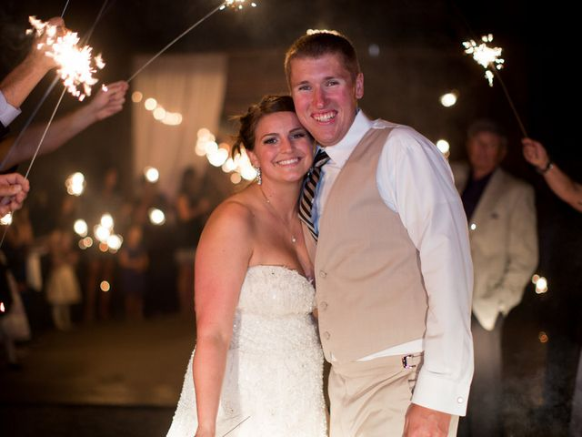 Emily and Aaron's Wedding in Sistersville, West Virginia 17