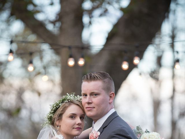 The wedding of John and Brittany