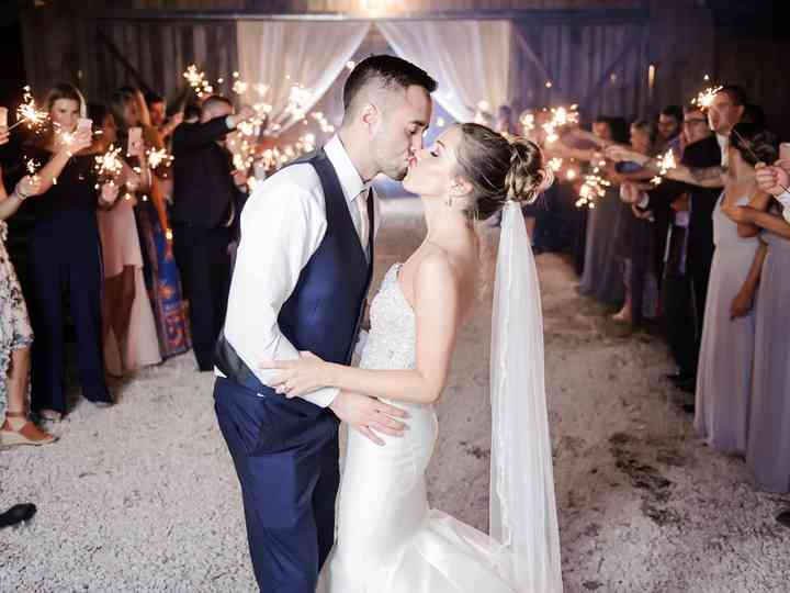 The wedding of Scott and Chyna Williams