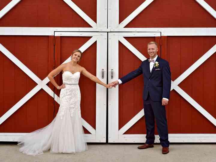 The wedding of Amanda and Tom