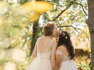 The wedding of Thea and Brigette