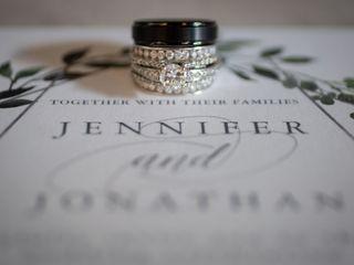 The wedding of Jennifer and Jonathan 1