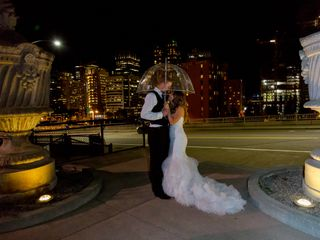 The wedding of Karlie and Bobby