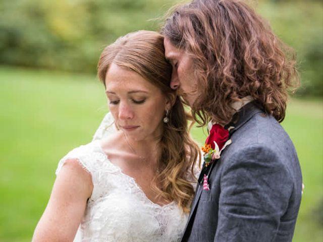 The wedding of Benjamin and Megan