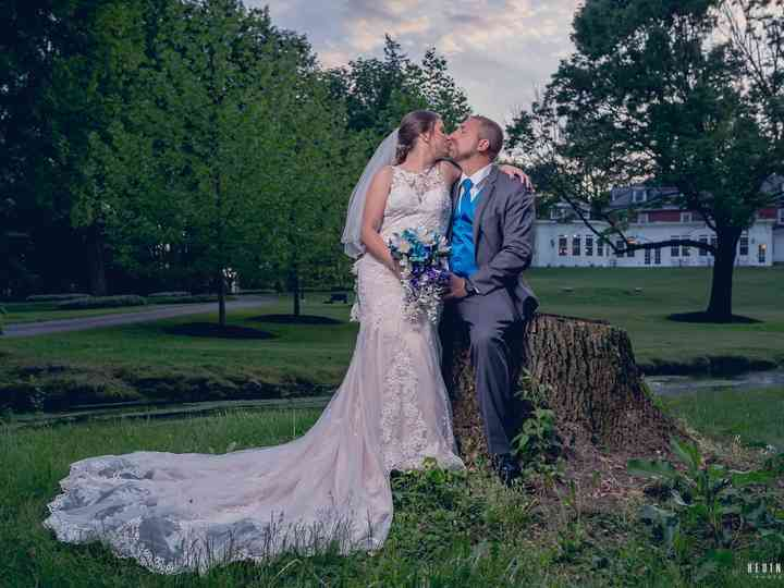 The wedding of Chelsea and John