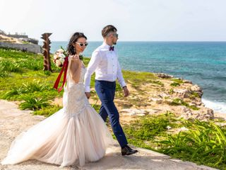 The wedding of Ksenia and Andrey