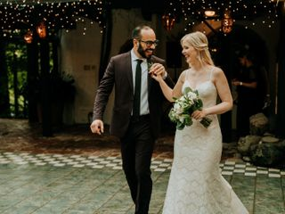 The wedding of Megan and Pedro
